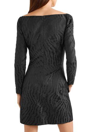 GIVENCHY Moiré-jacquard mini dress