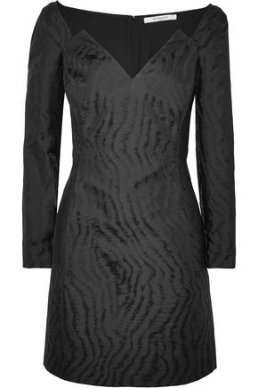 GIVENCHY Moiré-jacquard mini dress