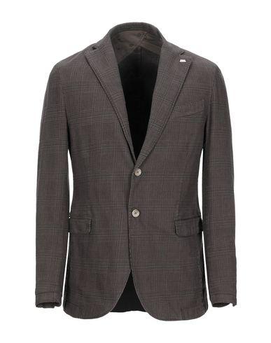 Фото - Мужской пиджак BARBATI коричневого цвета