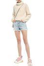 STELLA McCARTNEY Distressed denim shorts
