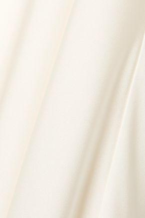 THE ROW Silk-twill maxi dress