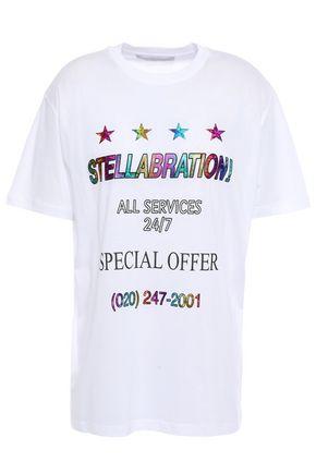 ステラ マッカートニー プリント ストレッチコットン ジャージー Tシャツ