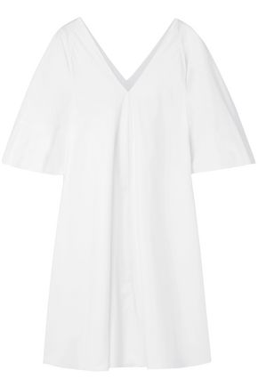 THE ROW Oversized cotton-poplin dress