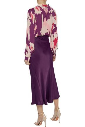 IRIS & INK Katha printed crepe de chine blouse