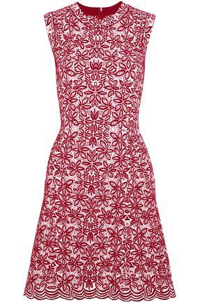 ALAÏA Wool-blend jacquard mini dress