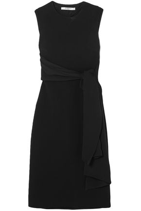 GIVENCHY Tie-front cutout cady dress