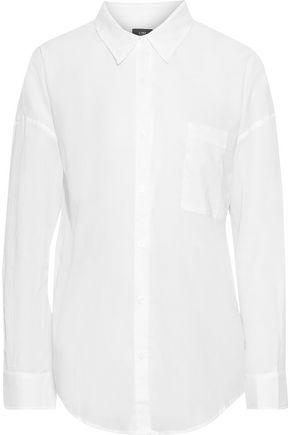 LINE Cotton-voile shirt