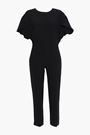 IRO Singles open-back ruffled crepe jumpsuit
