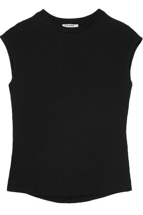 FRAME Slub cotton-jersey T-shirt