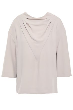 IRO Draped crepe blouse