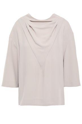 IRO Draped crepe blouse