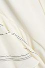 IRO Ninee ruffled crepe de chine mini dress