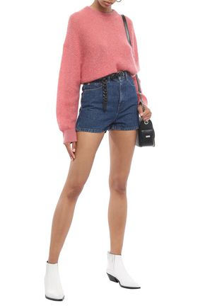 IRO Cutout denim shorts