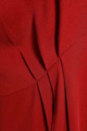 IRO Broken open-back crepe mini dress