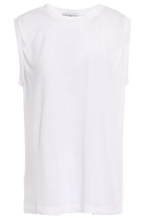 WILDFOX Cotton-blend jersey tank