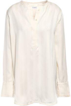 EQUIPMENT Windsor satin-jacquard blouse