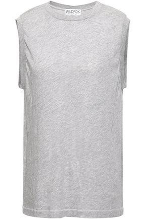 WILDFOX Mélange cotton-blend jersey T-shirt