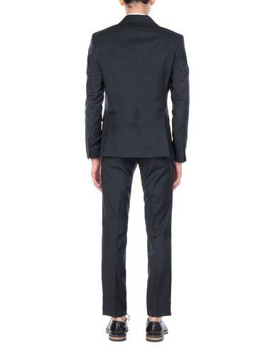 Фото 2 - Мужской костюм ASFALTO цвет стальной серый