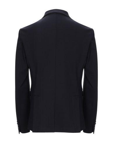 Фото 2 - Мужской пиджак DESERT CREW темно-синего цвета