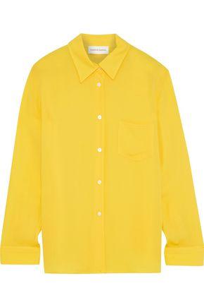 MANSUR GAVRIEL Silk crepe de chine shirt