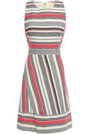 KATE SPADE New York Cotton-blend jacquard dress