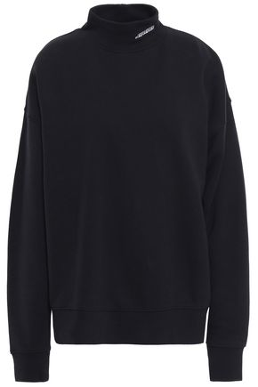 IRO Evolver embroidered French cotton-terry sweatshirt