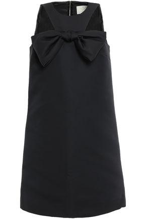 KATE SPADE New York Bow-embellished failled mini dress