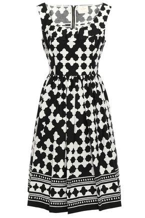 KATE SPADE New York Printed cotton-blend dress