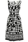 KATE SPADE New York Printed cotton-blend dress