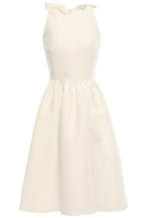 KATE SPADE New York Cutout bow-embellished woven dress
