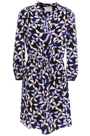 KATE SPADE New York Printed silk mini dress