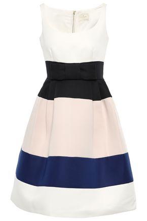 KATE SPADE New York Color-block faille dress