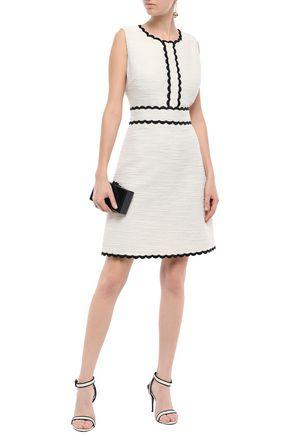 KATE SPADE New York Cotton-blend bouclé mini dress