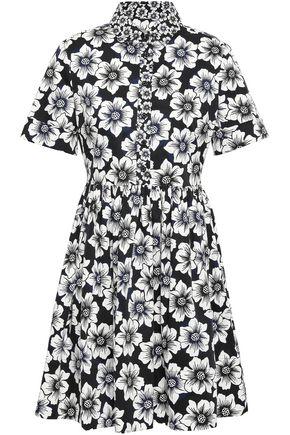 KATE SPADE New York Floral-print cotton-blend mini dress