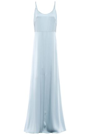 JENNY PACKHAM Satin-crepe gown