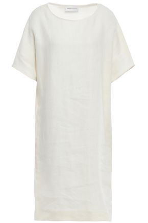 MANSUR GAVRIEL Slub linen dress