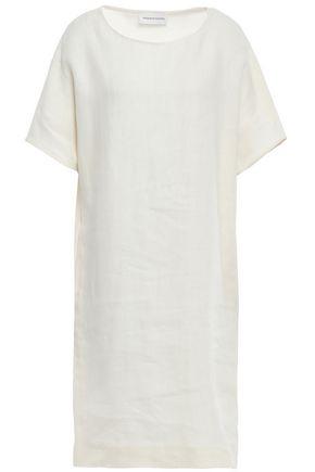 MANSUR GAVRIEL Slub linen dress