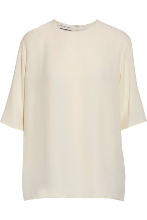 MANSUR GAVRIEL Silk crepe de chine top