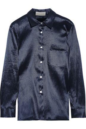 MANSUR GAVRIEL Satin-twill shirt