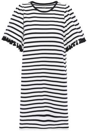 KATE SPADE New York Scalloped cotton-jersey mini dress