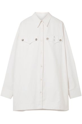 CALVIN KLEIN 205W39NYC Oversized cotton-twill shirt