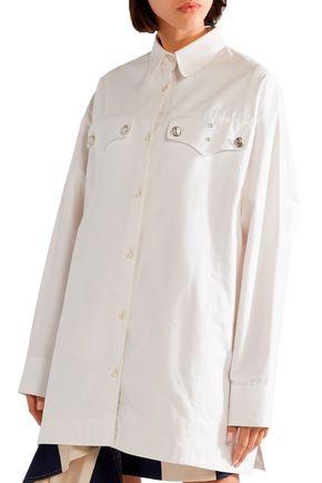 CALVIN KLEIN 205W39NYC Oversized cotton-twill shirt
