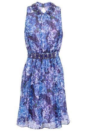 KATE SPADE New York Embellished silk mini dress