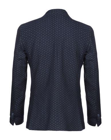 Фото 2 - Мужской пиджак DIMATTIA синего цвета