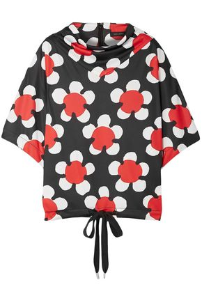 MARC JACOBS Floral-print jersey top
