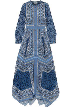 ALTUZARRA Tamourine printed silk crepe de chine maxi dress