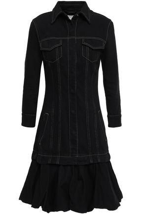 MARQUES' ALMEIDA Layered denim mini dress