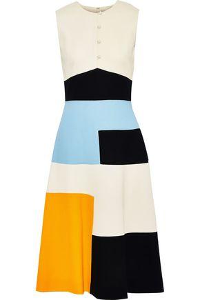 NOVIS The Litchfield color-block wool dress