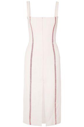 BROCK COLLECTION Deon striped linen dress