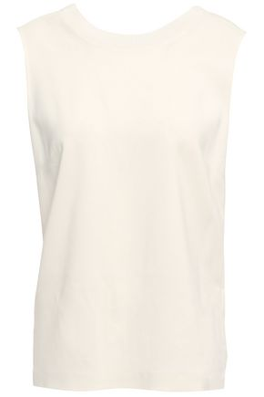 3.1 PHILLIP LIM Twisted stretch-crepe blouse
